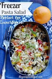 Freezer Pasta Salad Recipe Perfect For Lunchboxes