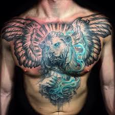 The Pride Chest Tattoo