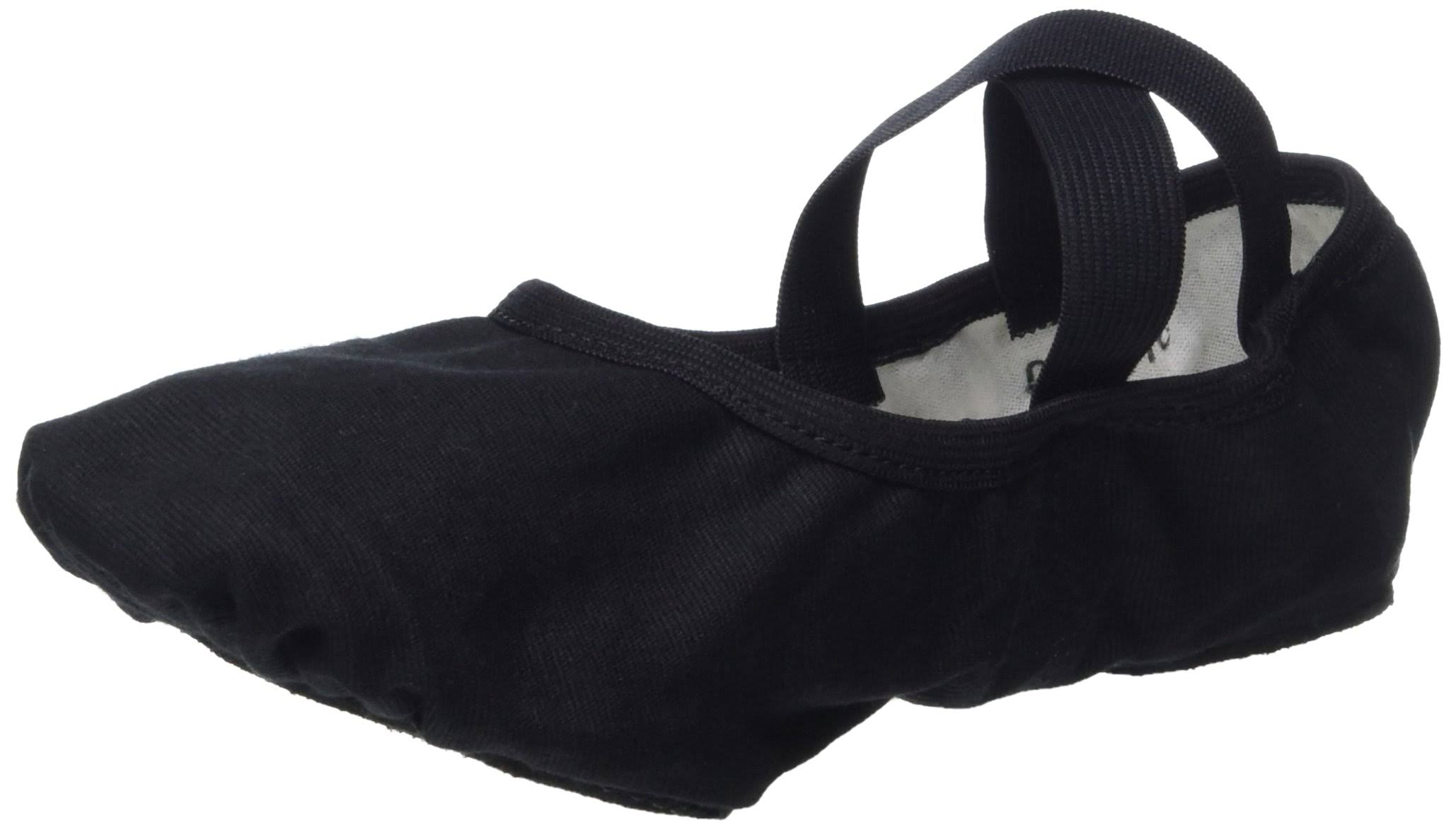 So Danca SD16 Canvas Split Sole Ballet Shoe 5.5 / Black