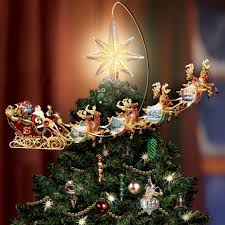 Thomas Kinkade Christmas Tree Cottage by Christmas Tree Toppers That You Have To See