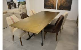 Dining Table Metal Wood