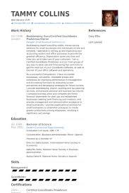 Bookkeeping Guru Certified Quickbooks Proadvisor Owner Resume Samples Work Experience