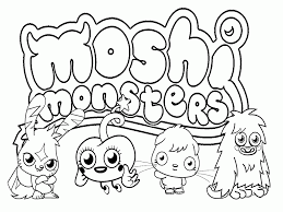 Cute Monster High Coloring Pages To Print For Kids