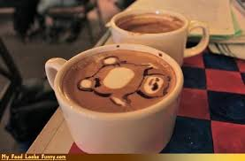 Anime Cappuccino Foam Art Coffee Drink Snorlax