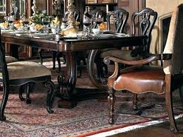 Stanley Dining Room Set Furniture Chairs Sets Heights Round Pedestal 5 8