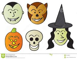 Characters For Halloween by Cartoon Characters For Halloween Royalty Free Cliparts Vectors