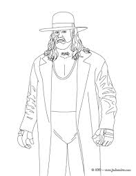 Coloring Pages Coloring Pages Wweintable Undertaker For Kids Free