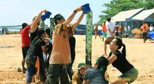 Bali Beach Team Building