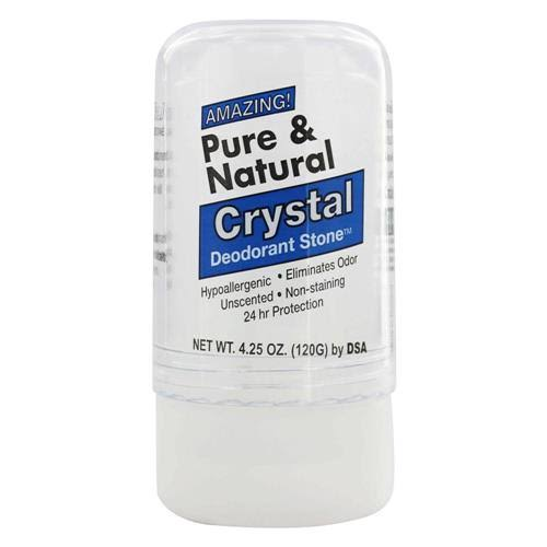 Deodorant Stone Pure and Natural Crystal Deodorant Stone - 4.25oz