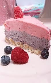 himbeer heidelbeere joghurttorte mit popcornboden no bake cake