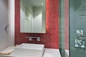 gestaltung mit farbe wann sollte rot im badezimmer