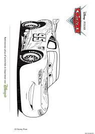 Coloriage Cars Flash McQueen Sur La Route Dessin