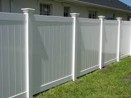 Classic White Vinyl Privacy Fence   Mossy Oak Fence Company ... 20 Awesome Small Backyard Ideas Backyard Design Entertaing Privacy Fence Before After This Nest Is Fniture Magnificent Lawn Garden Best 25 Privacy Ideas On Pinterest Trees Breathtaking Designs And Styles Pergola Fencing For Yards Gate Design By 7 Tall Cedar Fence With 6x6 Posts 2x6 Top Cap 6 Vinyl Fencing Provides Safety And Security Without Fences Hedges To Plant Fastgrowing Elegant