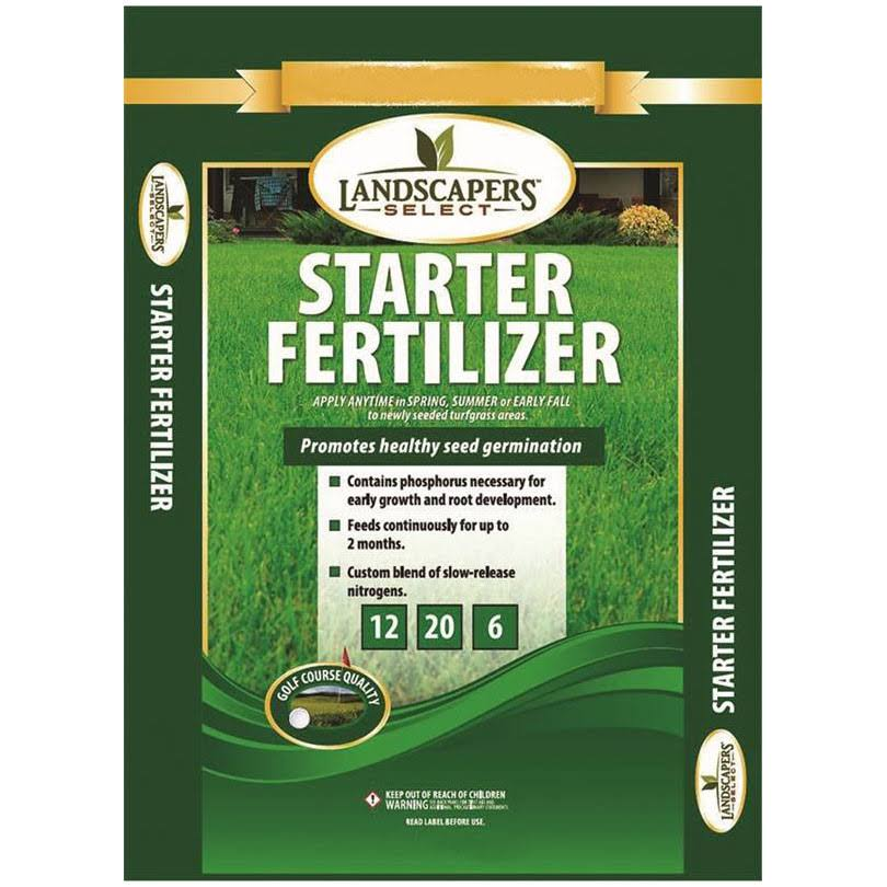 Landscapers Select 902739 Starter Lawn Fertilizer - 12-20-6, 5 Square Foot
