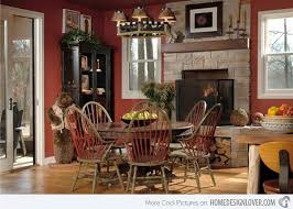 Susan Fredman Image Wonderful Rustic Dining Room