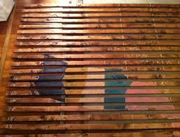 Ikea Mandal Headboard Diy by Diy Project Slatted Wood Map Art U2013 Design Sponge