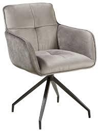 armlehnstuhl samt grau schwarz