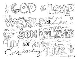 Bible Coloring Pages For Kids With Verses 1