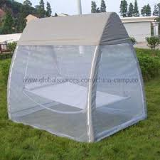China Hanging Hammock with Mosquito Net Suitable for Camping on