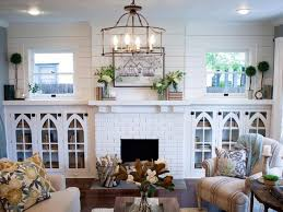 living room decor rustic farmhouse style living room by