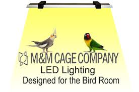 spectrum lighting for birds m m cage company