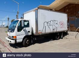 A White Box Truck With Graffiti On Its Side - USA Stock Photo ... Used 2008 Freightliner M2 Box Van Truck For Sale In New Jersey 11184 Class 4 5 6 Medium Duty Box Truck Dark Brown Small Rear View Stock Photo Picture And Does A Framing System Damage My Box Truck Or Trailer Pursuit Volving Ends With Crash Suspect In Custody Isuzu Elf 2017 3d Model Hum3d Solutions Beginner Tutorial How To Model Blendernation Barber Com Rent And Vehicle Wraps Gatorwraps Custom Glass Trucks Experiential Marketing Event Lime Media New Hino Van For Sale