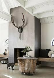 tisch aus baumstamm coole möbelstücke der natur inspiriert