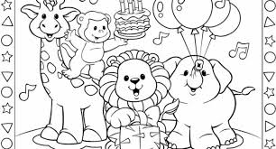 The Stylish Fisher Price Coloring Pages With Regard To Encourage In Images