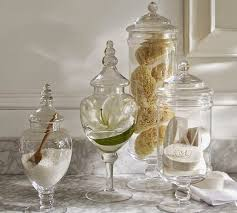 Mercury Glass Bathroom Accessories Uk by Small Bathroom Chic Tranquil Spa Inspired Accessories Small