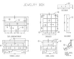 handmade wooden jewelry box woodworking plans at lee u0027s wood projects
