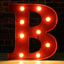 Neon Wall Lights And Letter Lights Ideas Of Light Up Letters For