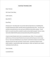 Informal Letter Format To Friend