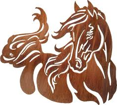 Sunland Home Decor Catalog by Equestrian Laser Cut Home Decor Wall Hangings Lazart Laser