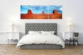 24x24 3 set total 24x72 utah desert landscape canvas