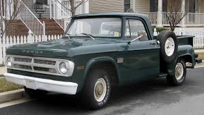 100 Stepside Trucks Dodge D Series Wikipedia