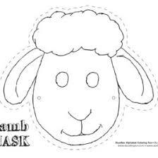 1000 Ideas About Sheep Mask On Pinterest Donkey Cow