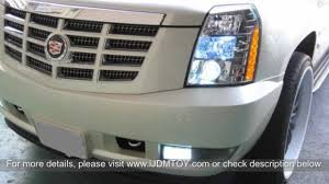 68 SMD 1210 5202 aka H16 LED Bulbs on 2010 Cadillac Escalade