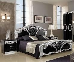 mcs sara sara black and silver bed frame furnituredirectuk net