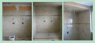 Tiling Inside Corners Wall by Ceramic Tile Shower Installation Td Remodeling