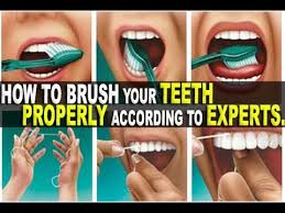 How To Brush Your Teeth Properly According To Experts