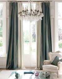 Pretty Silk Draperies In This Roomgorgeous Chandelier Too Window Drapes