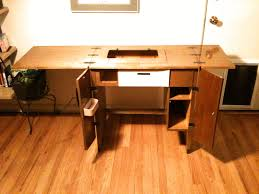 Sewing Cabinet Woodworking Plans by Sewing Machine Serendipity Custom Style