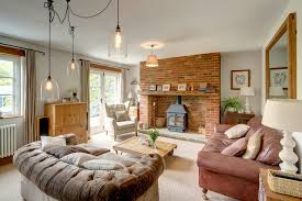 Cottage Livingroom Cottage East Sussex Landhausstil Wohnbereich