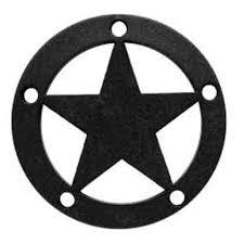 Simpson Decorative Joist Hangers by Simpson Apdts3 Outdoor Accents Decorative Star Powder Coat Black