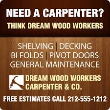 24x24 Custom Carpenter Magnetic Car Truck Auto Vehicle Signs Magnets -  Outdoor & Car Magnets 30 Mil Round Corners
