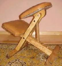 kneeling chair woodworking plans and information at