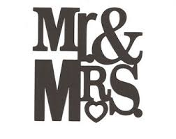 Mr And Mrs Wedding Clipart 28