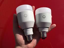 lifx white 800 led light redefines the efficient smart light bulb