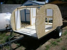 Temporarily Assembled For You To Take Home The 1960 Siesta Travel Trailer Behind It Is Not Sale