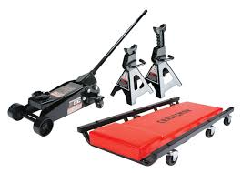 Napa Floor Jack 35 Ton by Craftsman 3 Piece Floor Jack Set